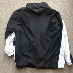 Head Jackets & Coats - HEAD VINTAGE TRACK WARM UP JACKET BLACK WHITE L